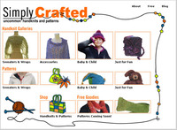 Simply Crafted Home Page